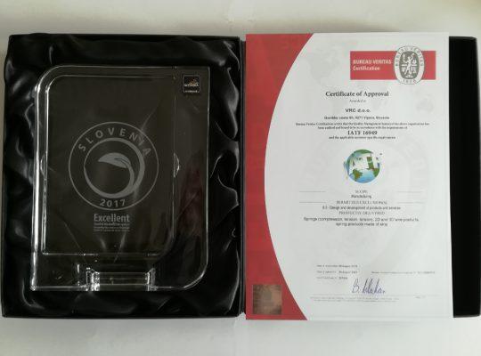 VRC certificates