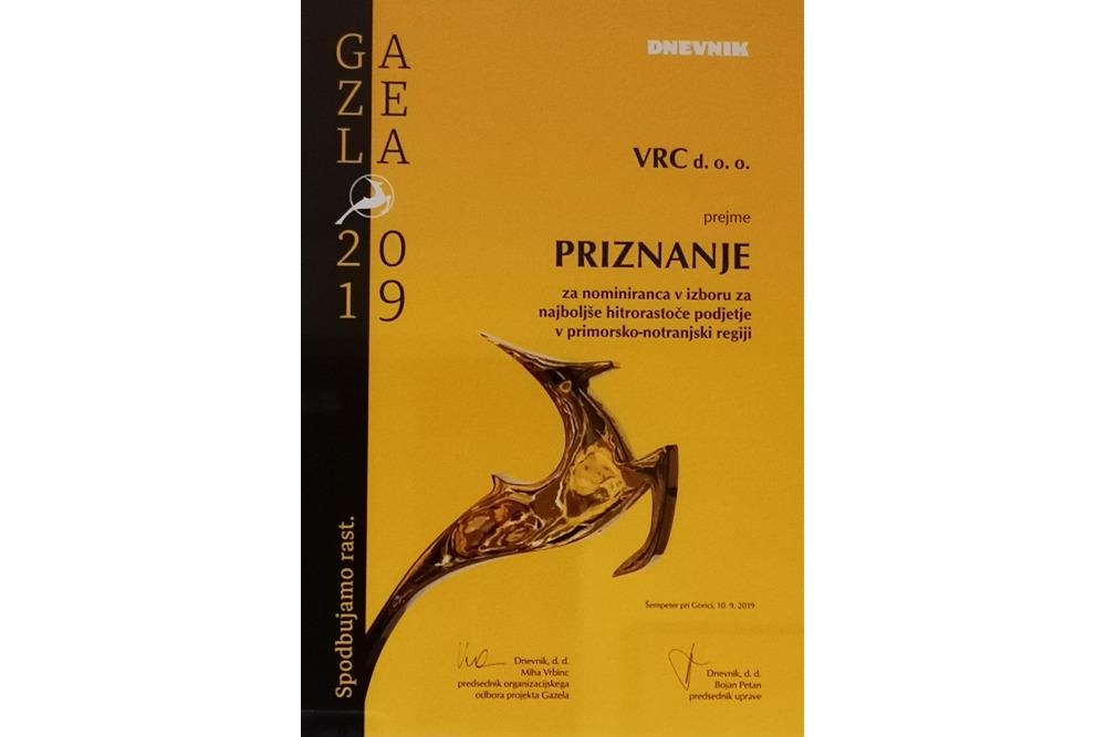 VRC gazela